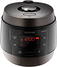 Cuckoo CMC-QSN501S, Q5 SUPERIOR 8 in 1 Multi Pressure Slow, Rice Cooker, Browning Fry, Steamer, Warmer, Yogurt, Soup Maker Stainless Steel, Made in Korea, Black