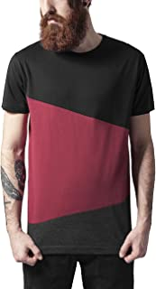Urban Classics Long Shaped Zig Zag Tee T-Shirt Uomo