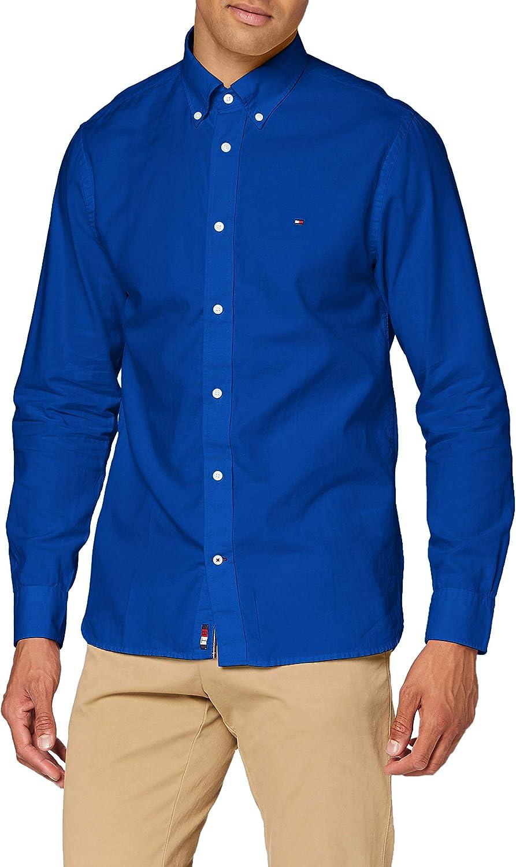 Tommy Hilfiger Light Weight Oxford Shirt Camisa Hombre