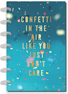 The Happy Planner - Confetti in The Air Celebrate Theme - July 2020 to June 2021 - Vertical Layout - Weekly & Monthly Disc...
