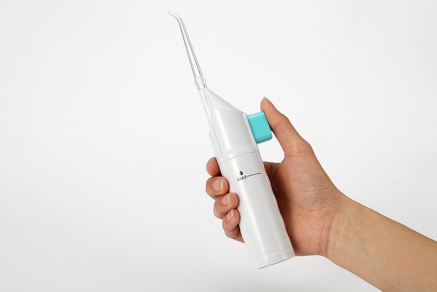 祖母地下愛されし者4G-Kitty 口腔洗浄器 手動ポンプ式 ウォーター 歯間洗浄器 歯間 ジェットクリーナー (AR-W-11)