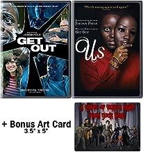 Jordan Peele Nightmare Collection: 2 Movies (Get Out / Us) + Bonus Art Card