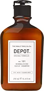 Depot 101 normalizing daily shampoo 250 ml - vrouwen - Voor Extensions