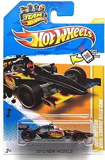 Hot Wheels - 2012 IndyCar Oval Course Race Car 42/247 - BLACK