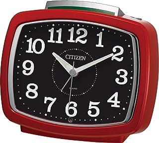 CITIZEN ( シチズン ) 目覚まし 時計 サイレントミグ640 暗所 ライト 自動 点灯 レッド 8RA640-001