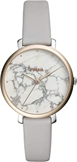 Fossil Womens Quartz Watch, Analog Display and Leather Strap ES4377
