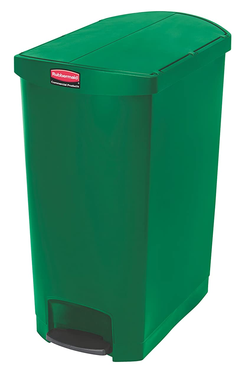 まあ劇的マーケティングラバーメイド スリムジム ステップオンコンテナ エンドステップ 1883589 ゴミ箱