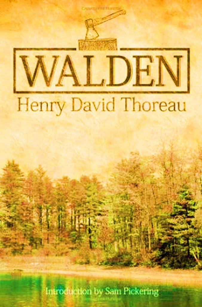 ハンディ抑圧する豊かなWalden  (Annotated ) (English Edition)