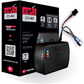 $69 » Fortin EVO-CHRT6 Stand-Alone Add-On Remote Start Car Starter System For Chrysler Dodge Jeep Fobik Smart Key And Push-To-St...