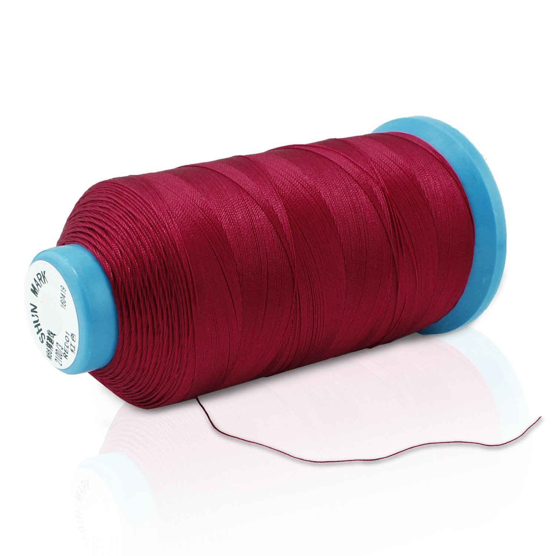 Aussel T70 - Hilo de Coser de Nylon , Rojo: Amazon.es: Hogar