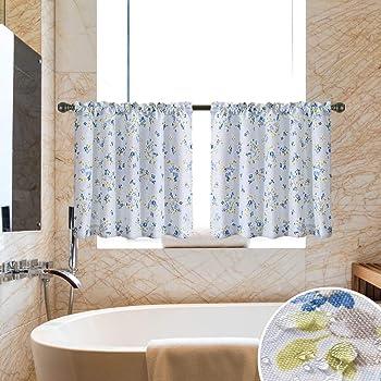 oremila Bathroom Shower Curtain 72 x 72 Seashell Starfish Multi-Color Shower Curtains Fabric Bathroom Curtain Durable Water Repellent Bath Curtain,1pcs