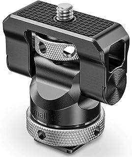 SMALLRIG Mini Hot Shoe Stand Camera Monitor Mount 140 Degree Upper Rotation 360 Degree Base Rotation- BSE2346