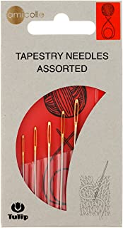 Tulip Needle Company Tulip Big Eye Tapestry Needles, Multi-Colour, 0.72 x 6.35 x 12.07 cm
