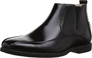 Florsheim Kids Reveal JR C Side Zip Chelsea Uniform Boot (Little Kid/Big Kid)