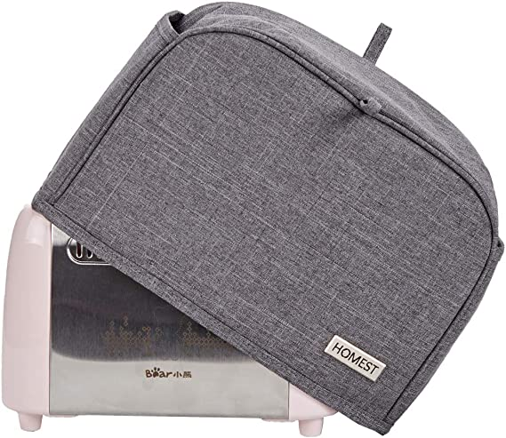 HOMEST 2 Slice Toaster Cover with Pockets