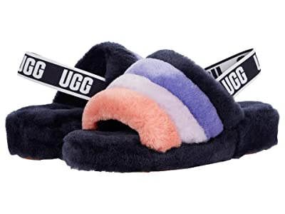 UGG Fluff Yeah Slide (Starry Night Multi) Women