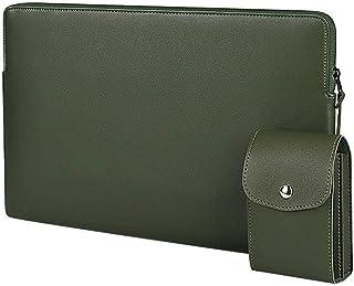 N-B Estuche para portátil, Bolso de Cuero para Macbook Air Pro Retina