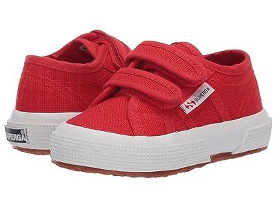 Superga Kids 2750 JVEL Classic (Toddler/Little Kid) (Red/White) Kids Shoes