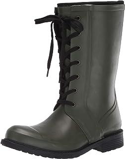 Aerosoles Women's Vernon Rain Boot, Green, 9 M US