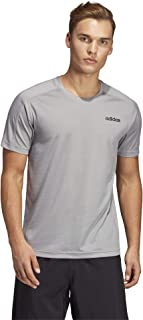 Adidas Men's Design 2 Move T-Shirts, Grey (Medium Grey Heather), Medium (DT3041-)
