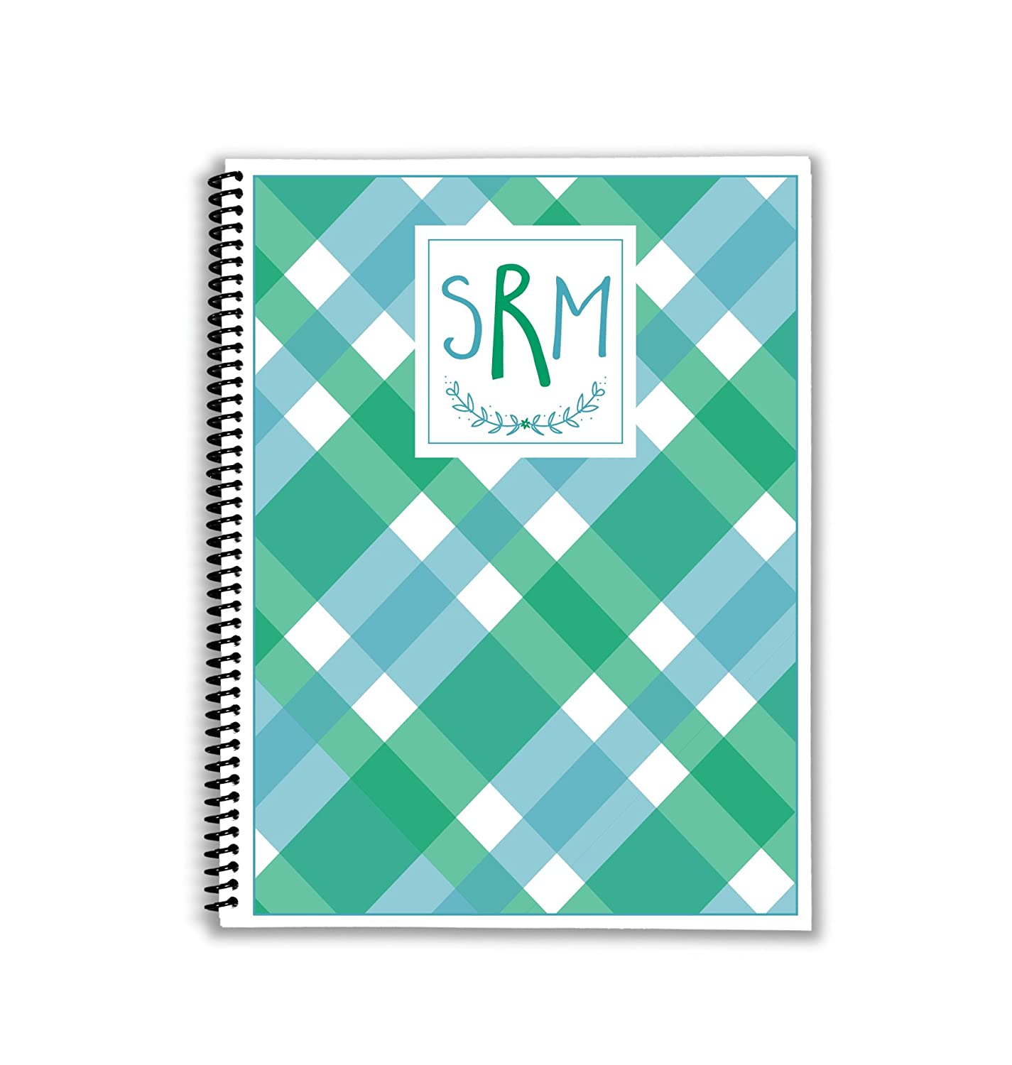 Mad About Blue gift Plaid Monthly and with Planner Ranking TOP5 Weekly Shoppi Meal