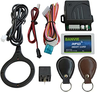 Car Immobilizer Security Alarm System, RFID Anti-Theft Electronic Hidden Lock, Convenient to Intead of Steering Wheel Lock
