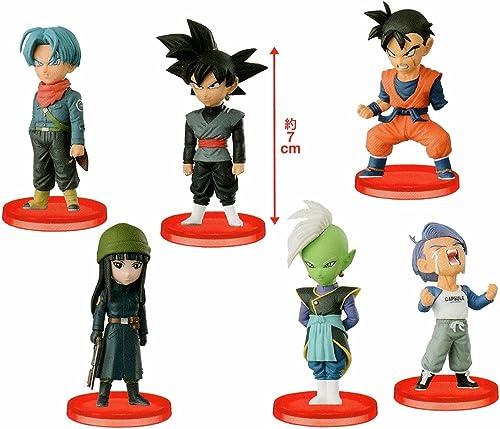 Dragon Ball super-World Collectible figures vol.6 whole set of 6 Banpresto Prize