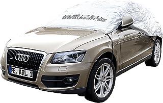 PEARL Auto Halbgaragen Winter: Auto Halbgarage für SUV & Kastenwagen, 410 x 140 x 65 cm (Schneeschutz Auto)