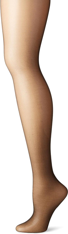 Hanes Silk Reflections Women's High Waist Control Top Sandalfoot Pantyhose