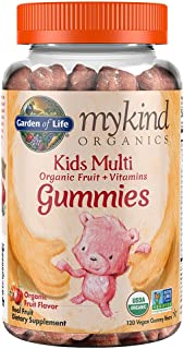 Garden of Life – mykind Organics Kids Gummy Vitamins – Fruit –..