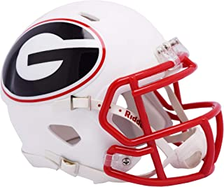 Riddell Georgia Bulldogs AMP Alternate Revolution Speed Mini Football Helmet - College Mini Helmets