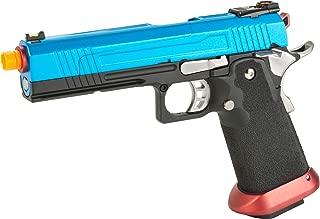 Evike AW Custom Split Frame Hi-Capa Competition Grade Gas Blowback Airsoft Pistol