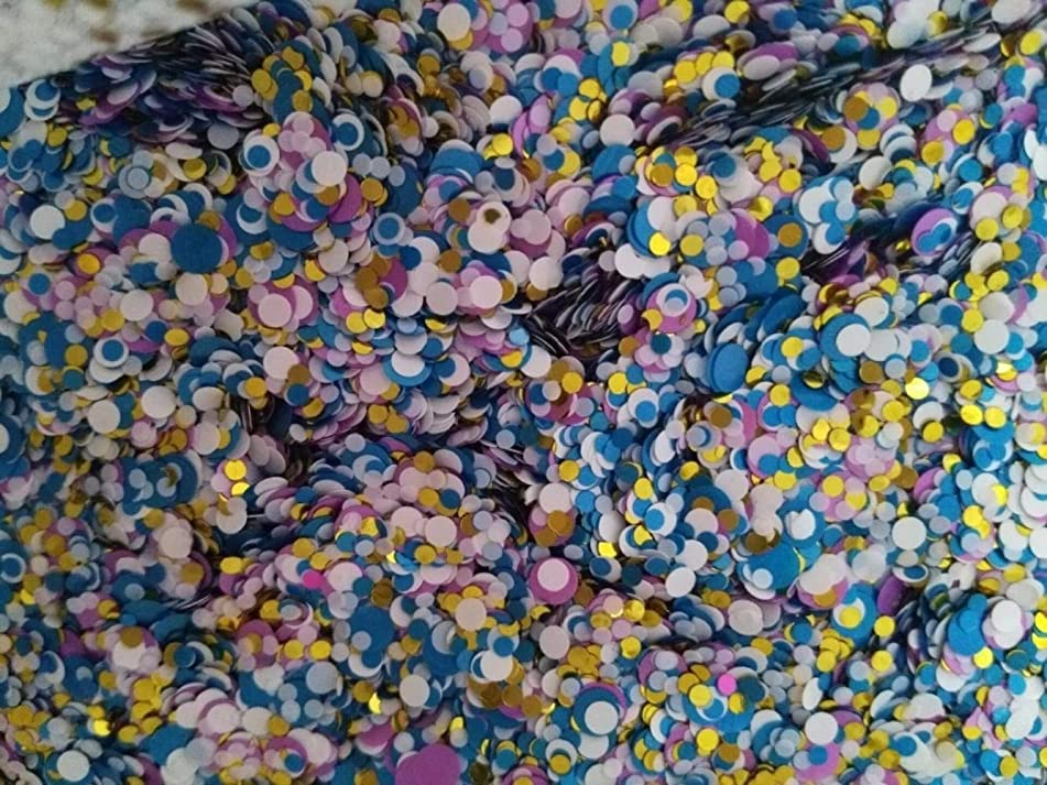 Blue White Gold pink 100g Paille Ultrathin Sequins Mixed Nail Art ROUND Shapes Confetti Sequins Acrylic Round Nail Glitter - Nail Glitter