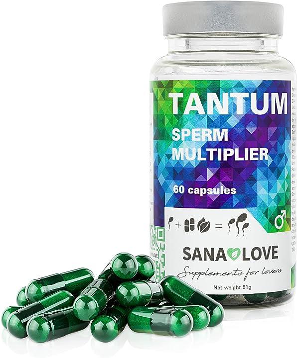 Integratore per aumentare lo sperma per una maggiore potenza-1 confezione(1 x 60 capsule)tantum di sana love B08RSLJ6CB