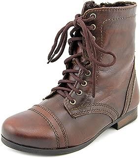 Girl's JTroopa Casual Combat Boot Cognac 1 Medium US