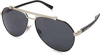Sunglasses Dolce & Gabbana DG 2189 01/87 MATTE BLACK/PALE GOLD