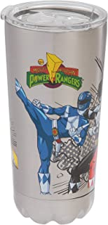 Vandor Power Rangers 20-Ounce Stainless Steel Vacuum Travel Tumbler (27009)