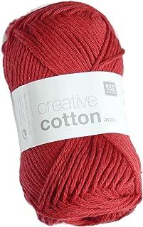 Rico Design Creative Cotton Aran - Cherry (065)