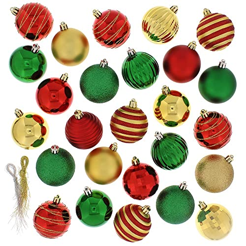 Christmas Tree Ornament Sets.Assorted Christmas Ornament Sets Amazon Com