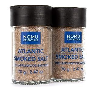 Nomu Essential Spices Atlantic Applewood Smoked Salt (2-pack)