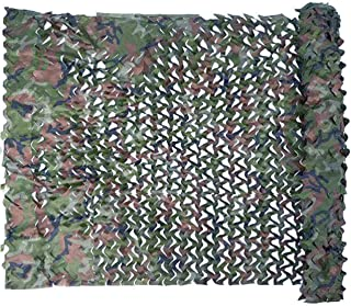 Treasure Land 6.5ft x 10ft 2mx3m,13.1ft x 16.4ft 4mx5m Woodland Camo Camouflage Netting Net for Military Camping Hunting Shooting Party Decorations