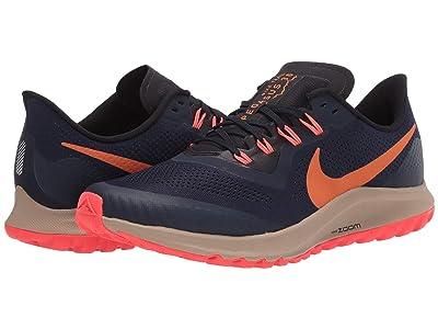 Nike Air Zoom Pegasus 36 Trail (Obsidian/Magma Orange/Black 2) Men