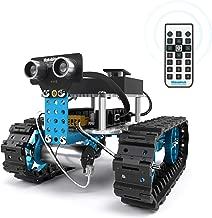 Makeblock Starter Robot Kit, DIY 2 in 1 Advanced Mechanical Building Block, STEM Education to Learn Robotics, Electronics and Program. (IR Version)