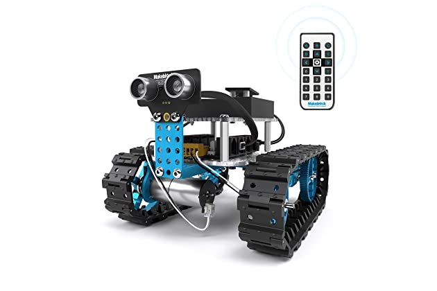 Amazon.com: Makeblock Starter Robot Kit, DIY 2 in 1 Advanced ... on
