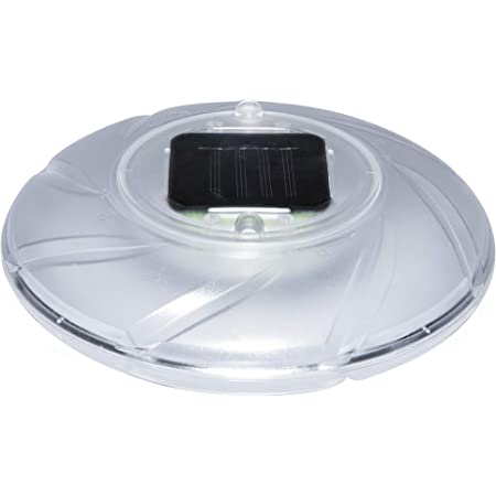 Bestway 58111 - Luz LED Solar Flotante 18 cm Diámetro