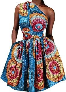 فساتين أفريقية مقاس إضافي للنساء ملابس أفريقيا فستان غير متماثل فساتين بالشرق الأوسط بازين ريتش التقليدي