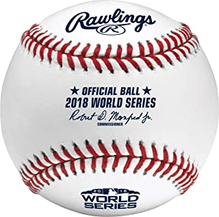 2018 world series baseballs