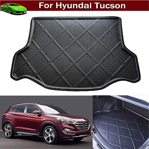 Black MAXLINER A0206//B0206 Floor Mats for Hyundai Tucson 2016-2017 Complete Set