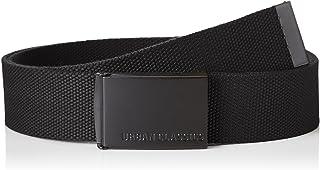 URBAN CLASSICS, Cinturón Canvas Unisex, Cinturón para Hombre y Mujer, Correa de Tela, Cinturón de Cuerda sin Agujeros, con...
