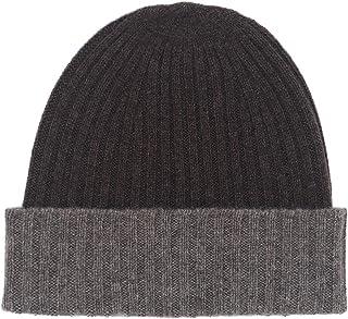 State Cashmere Women's 100% Cashmere Knitted Warm Cuff Beanie Cap